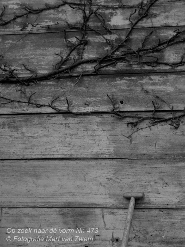 Zwart-wit fotografie, steel, schop, compositie