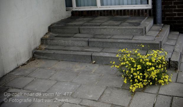 Geel en de trappen