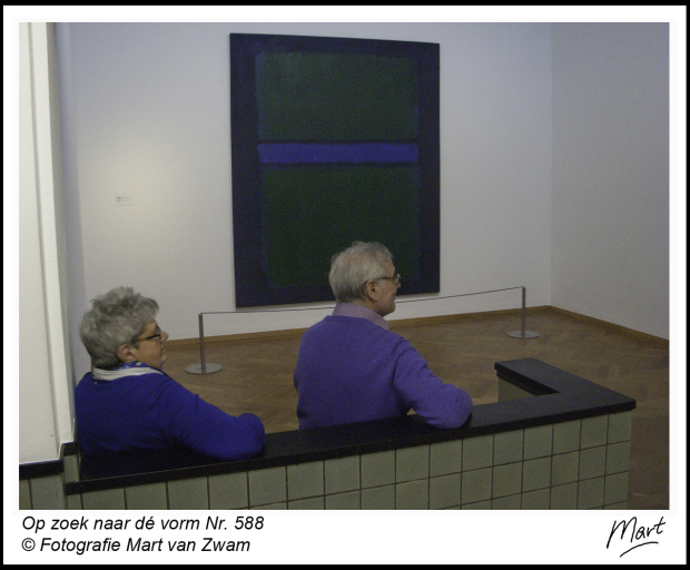 Blauw en Rothko