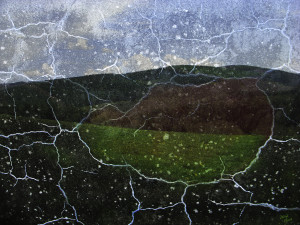 The veins of a landscape