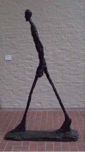 Walking man-Alberto Giacometti