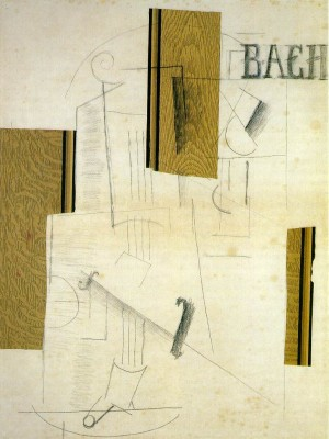 Stilleven Bach- Georges Braque